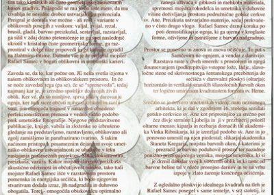 TM, 2004, Rafael Samec, Vrtnica v mojem srcu, vabilo na razstavo 3b