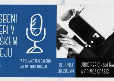 TM Glasbeni večeri 2015 UROŠ PERIČ - SLO RAY CHARLES IN PRIMOŽ GRAŠIČ vabilo 3a