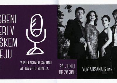 TM Glasbeni večeri 2016 VOX ARSANA & BAND vabilo 3a