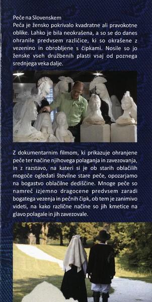 TM, Peče na slovenskem 2015 otvoritev razstave, avtor zloženke dr. Bojan Knific, zloženka 3e