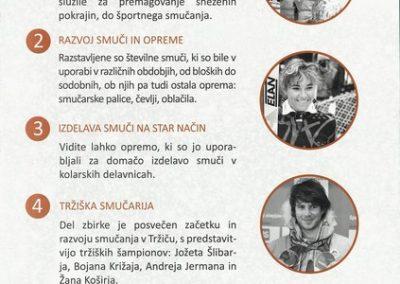 TM, Slovenski smučarski muzeji 2014 zloženka 3c
