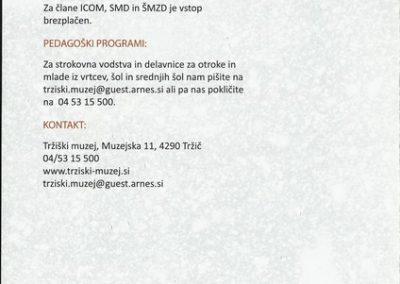 TM, Slovenski smučarski muzeji 2014 zloženka 3d