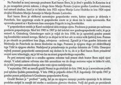 TM, ZKI, 23. mednarodni dnevi mineralov, fosilov in okolja 1995 razstava Bornovi v Puterhofu, zloženka 3c