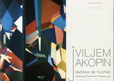 Tržiški muzej 2009 Vilijem Jakopin, razstava ob 70-letnici katalog razstave 3a