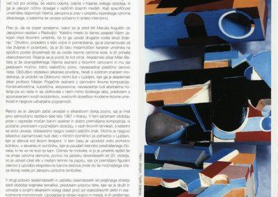 Tržiški muzej 2009 Vilijem Jakopin, razstava ob 70-letnici katalog razstave 3c