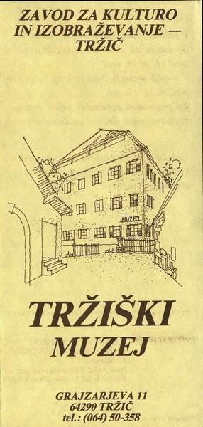 Tržiški muzej ZKI zloženka 3a