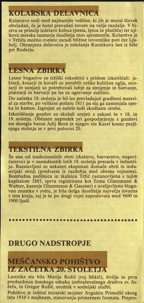 Tržiški muzej ZKI zloženka 3b